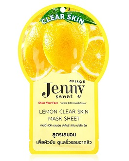 JENNYSWEET LEMON CLEAR SKIN MASK
