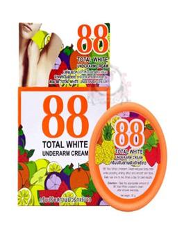 88 TOTAL WHITE UNDERARM CREAM