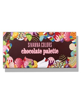 SIVANNA COLORS CHOCOLATE PALETTE 01