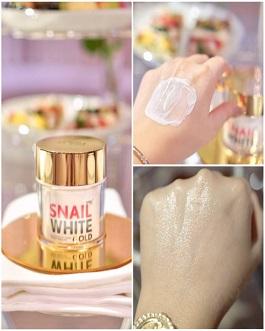 NAMULIFE SNAIL WHITE GOLD CREAM