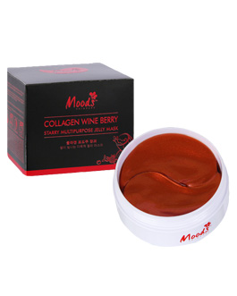 MOODS COLLAGEN WINE JELLY MASK