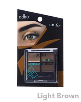 ODBO CHIC BROW POWDER #01
