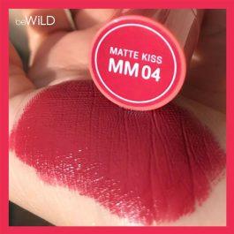 BE WILD MATTE LIPSTICK  MM04