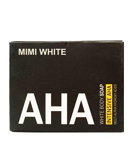 MIMI WHITE AHA WHITENING SOAP