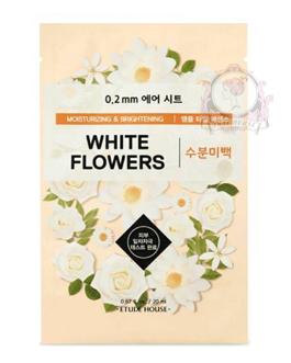 ETUDEHOUSE WHITE FLOWERS SHEETMASK
