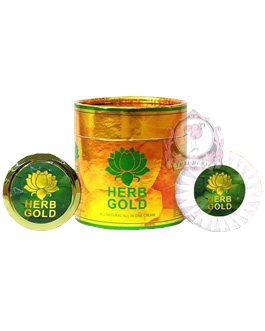 HERB GOLD CREAM AND SOAP