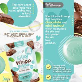 JOJI CHOCOLATE MINT WHIPP SOAP
