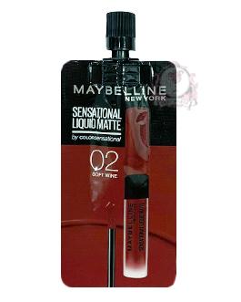 MAYBELLINE LIQUID MATTE 02