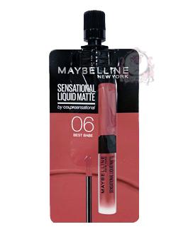 MAYBELLINE LIQUID MATTE 06