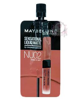 MAYBELLINE LIQUID MATTE NU02