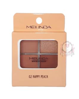 MEILINDA MINI BLOCK EYESHADOW #02