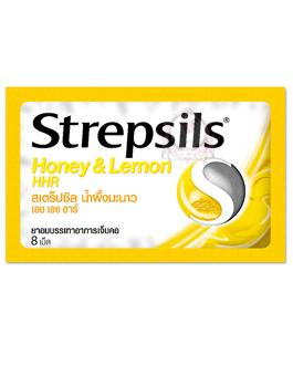 STREPSILS HONEY LEMON