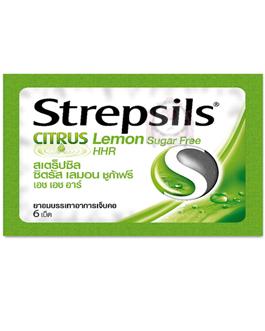 STREPSILS CITRUS LEMON